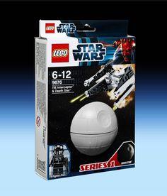 9676 TIE Interceptor & Death Star (2012) - 65 pieces, 1 mini-figure.
