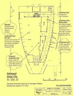 Hallways - outer city