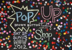 Brown Button Trading Christmas Pop Up Shop. Email info@brownbuttontrading.com.au for details x