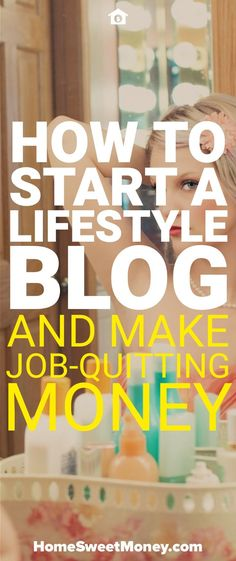 Want to start a lifestyle blog? Here is how to start a lifestyle blog and make money that will allow you to quit your job.