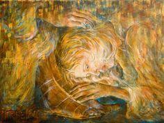 mary magdalene painting Jesus