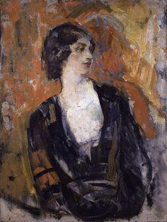 Ambrose McEvoy - Portrait of Lillah McCarthy