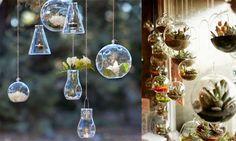 El blog de Los Peñotes: DIY: Terrarios en miniatura.