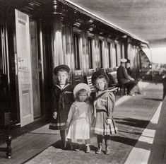 Olga, Marie and Tatiana 1901.