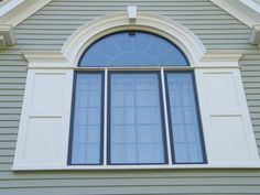 Exterior window molding ideas cellular pvc trim the for Decorative window trim exterior