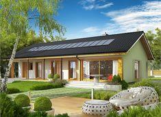 Eryk II G1 (30 stopni) - zdjęcie 3 Lampang, Design Case, My House, Gazebo, House Plans, Cottage, House Design, Patio, Outdoor Decor