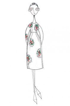 Semana de la Moda de Nueva York otoño-invierno 2013/14: ¿qué veremos? by WWD & fashiniosma.es preview skech of Josep Font´s FW 1415 FS at New York Fashion week, on 10 02 Chelsea.