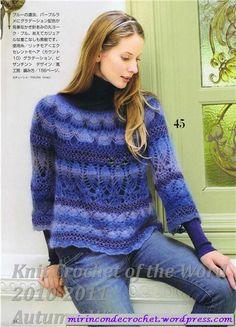 Azul…. como el mar azul…. | Mi Rincon de Crochet