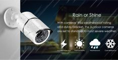 Security Monitoring, Cctv Security Systems, Outdoor Camera, Security Camera System, Severe Weather, Stand Up, 20 Years, Cameras, Coding