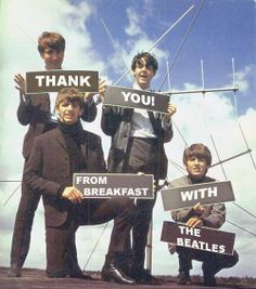 @Jenna Bosch Have you ever heard of this?! I want breakfast with the Beatles!!