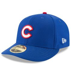 Chicago Cubs New Era C Diamond Era 59FIFTY Low Profile Fitted Hat - Royal