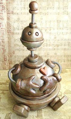 robot- art- sculpture