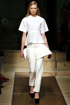 Peplum Silhouette Trend 2012 - Fashion & Catwalk | British Vogue