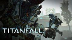 Titanfall titan and pilot