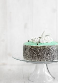 Sprinkle Bakes: Mint-White Chocolate Mousse Cake and a Book Trailer!