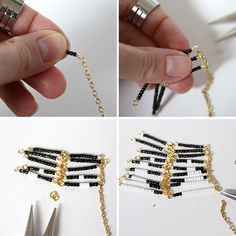 Anthropologie, season after season, comes up with the most fabulous items in their stores – and so many of them look homemade and crafty: the perfect fodder for DIY. I noticed this beaded ladder tassel necklace during early Fall (part of Anthro's Bijouterie necklace collection), and after clipping the photo and hunting for supplies, I …