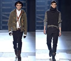 Michael Bastian 2013-2014 Fall Winter Mens Runway Collection