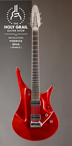 Exhibitor at The Holy Grail Guitar Show 2014: Pierrick Brua, Bruaguitars, France