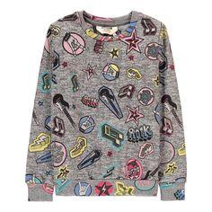 Little Eleven Paris Metallica Rock Sweatshirt Heather grey-product