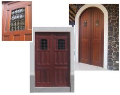 Spanish Style Wooden Gates | The combination of traditional designs with modern hardware packages ...