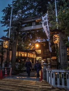 Asakusa/Torigoe Matsuri 3/13 The entrance of the Torigoe Jinja, the shrine doing the matsuri, also decorated with chochin lanterns from the various chokai (neighborhoods). #Asakusa, #Torigoe, #matsuri, #omikoshi, #chochin, #lantern Taken on June 7, 2014. © Grigoris A. Miliaresis
