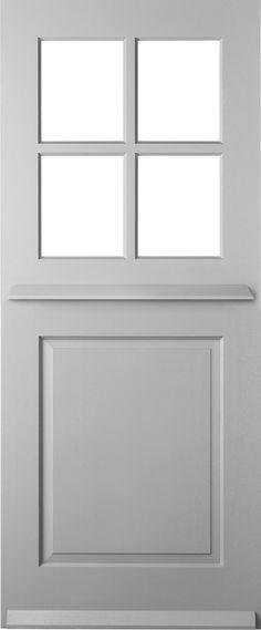 RD8008 solid hardwood - Front door
