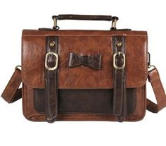 Brand New Vintage Leather Women HandBag Briefcase
