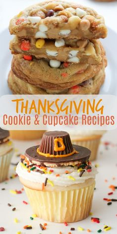 10 Thanksgiving Cookies and Cupcake Recipes 10 Thanksgiving Cookies and Cupcake Recipes,The Best Recipes Here are my top 10 Thanksgiving Cookie & Cupcake Recipes. No Thanksgiving dessert table is complete without these. Thanksgiving Cookies, Thanksgiving Desserts Easy, Holiday Desserts, Holiday Baking, Holiday Recipes, Thanksgiving Turkey, Christmas Baking, Christmas Cookies, Holiday Fun