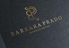 Logo desenvolvida para Maquiadora Barbara Prado.