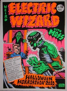Electric Wizard // Moss - Halloween Tour 2010