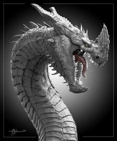 ArtStation - Dragon Render, Adam Shaw