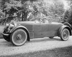 Packard Roadster 1920s Vintage Car 8x10 Reprint Of Old Photo