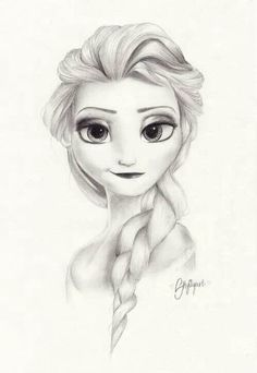 Absolutely astonishing drawing of Elsa!!!
