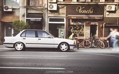 Bmw e30 lg bicycles white wallpaper