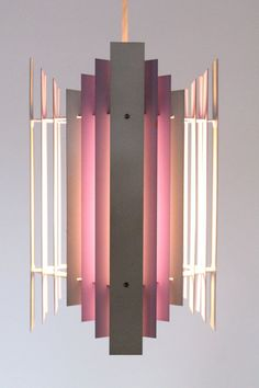Preben Dahl; Enameled Metal Ceiling Light for Hans Flosgaard, 1962.