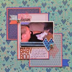 My Scrapbook Evolution: Game On! A Winter Lift me Up-layout by Christy Strickler