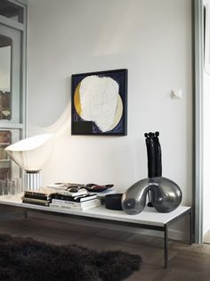TACCIA table lamp by the Castiglioni brothers.  Photograph by Jonas Ingerstedt.