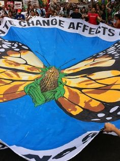 People's Climate March: thousands demand action around the world – as it happened – Nurture Humanity – climate change protest Letter From Birmingham, Environmental Posters, How To Make Banners, Stem Challenges, Good Cause, Our Planet, Stem Activities, Climate Change, Cool Art
