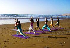 Elafonisi Villas are ideal for yoga holidays. Group yoga sessions on the beach. Blue Curacao, Massage, Meditation Retreat, Yoga Photos, Stress, Yoga Posen, Outdoor Yoga, Beach Yoga, Yoga Photography
