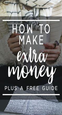 Here's a guide on how to make extra money, plus a free guide on how to jumpstart your side hustle! via @lifeandabudget