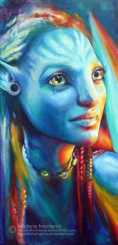 Netyri, Avatar by Marlene Freimanis.
