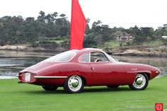 Alfa Romeo Giulietta Sprint Speciale prototype (chassis 00001) was shown at the Turin Motor Show in 1957