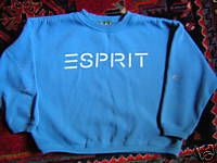 Esprit--you were nothing without one of these..or so we thought