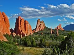 Garden of the Gods, Co...many summers were spent camping nearby