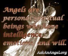 Angels are Personal Spiritual Being. Follow us on IG @ askanangel1 or Visit AskAnAngel.org