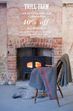 Trill Farm, Devon. End of Summer Sale - Gotland Wool Blankets http://www.organicholidays.com/at/2808.htm