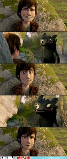 "toothless -- ""How to Train Your Dragon"""