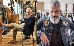 Conheça homens mais velhos que estão abalando o mundo da moda   Virgula