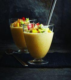 Lemon Coconut Mousse