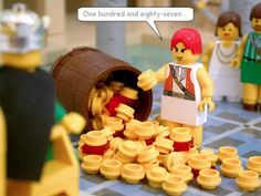 A Different Way: Bible Stories with Legos